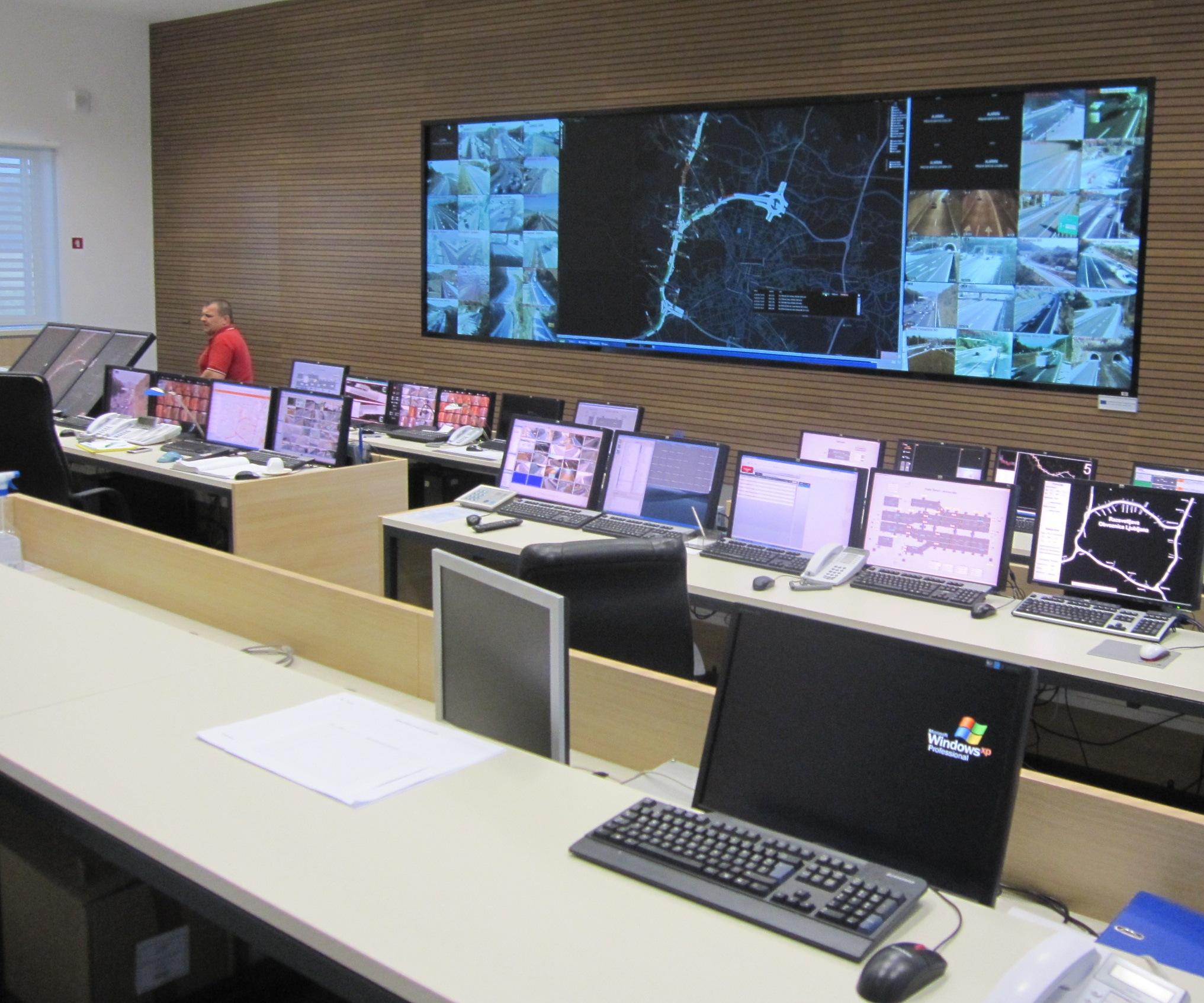 Regionalni nadzorni center Ljubljana