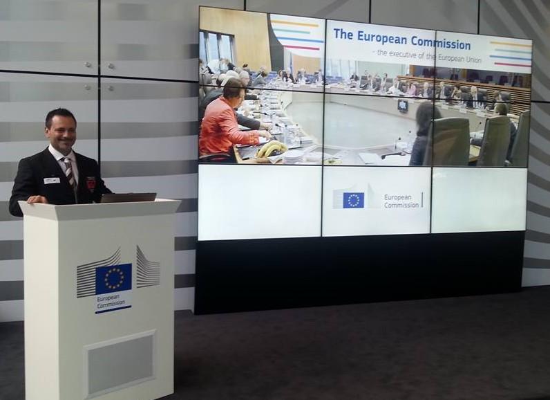 Ju-Jitsu Wjjc Shodai Soke Adriano Busà in Bruxelles European Commission Centre Varensvet.si