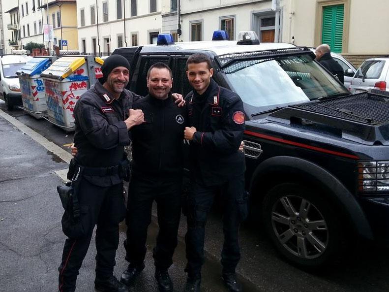 STS Professional Self Defense Founder Adriano Busà Carabinieri Varensvet.si