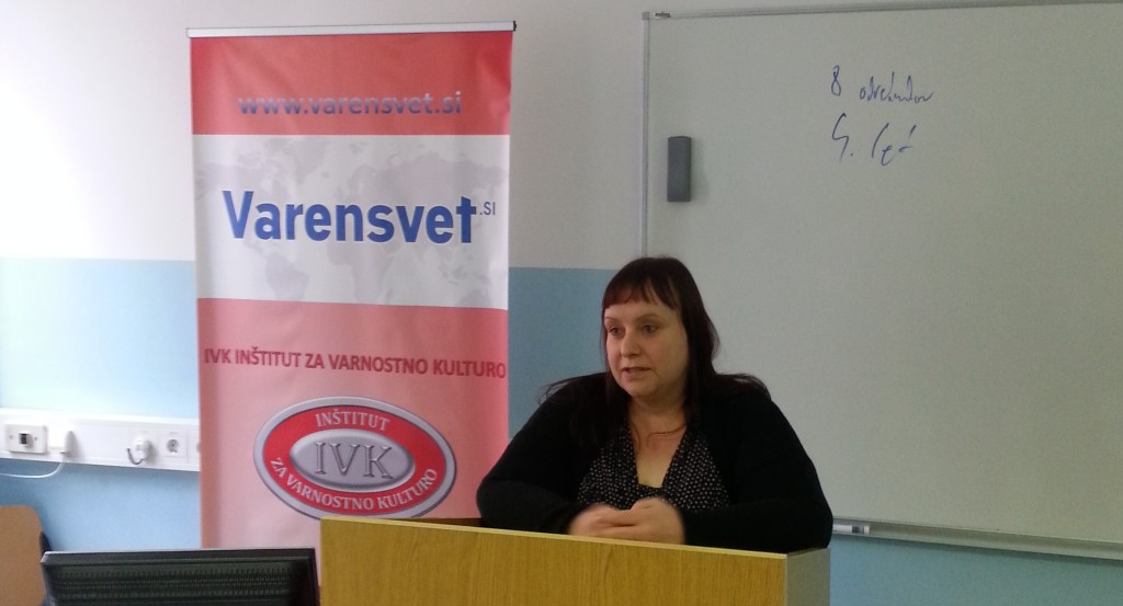 doc. dr. Danijela Frangež Fakulteta za varnostne vede Varensvet.si
