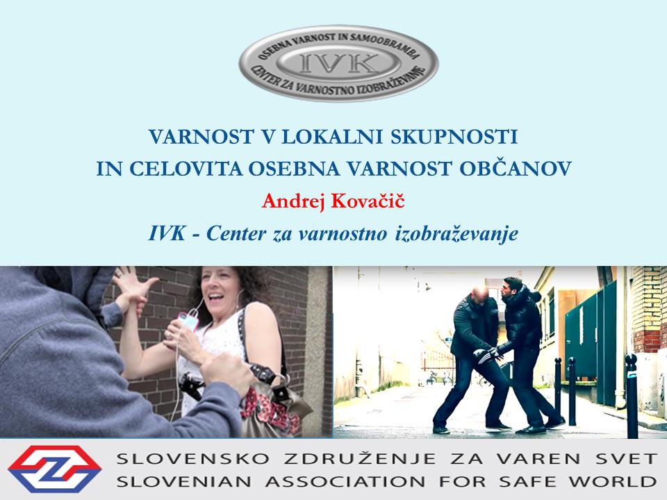 Varnost v lokalni skupnosti in osebna varnost občanov Varensvet.si